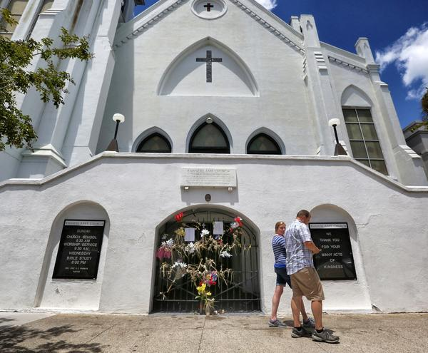 The Emanuel African Methodist Episcopal Church, site of the 2015 massacre, is in the heart of Charleston's historic area.