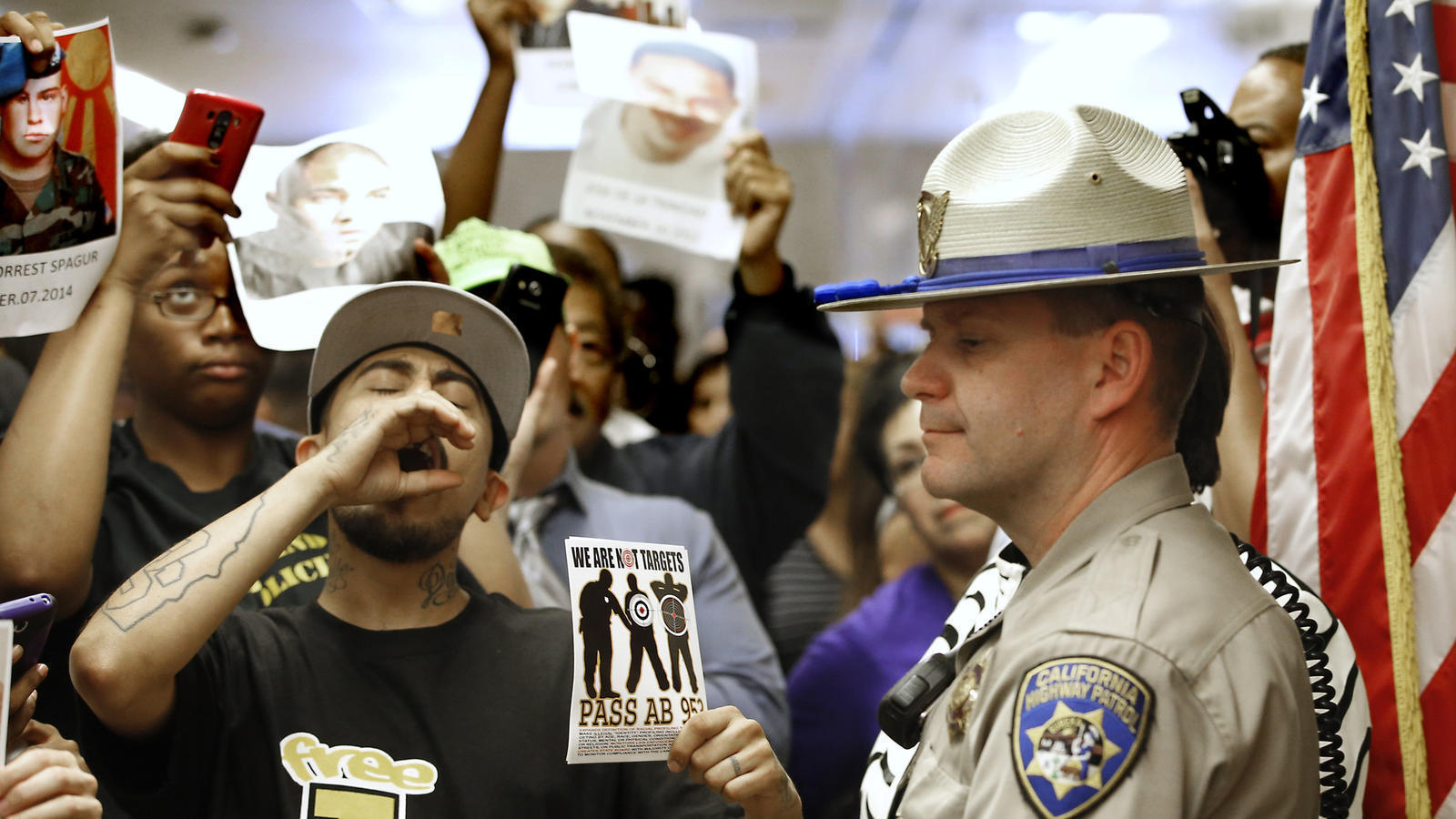 California police officers will soon begin gathering data on the race of those they stop la times - Police officer in california ...