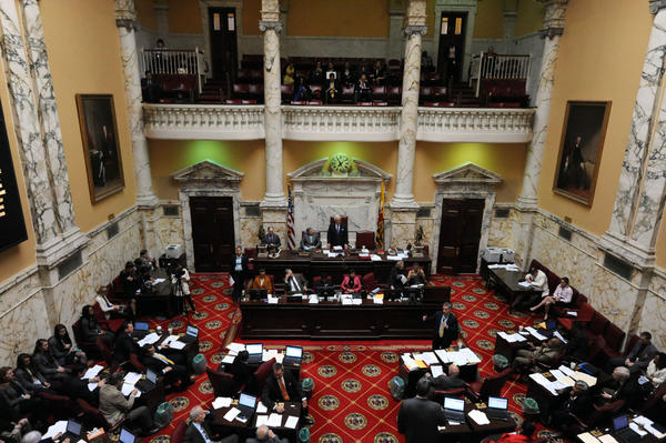 Miller shuffles Maryland Senate leadership positions