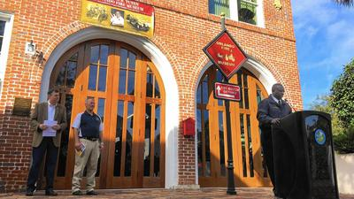 Orlando fire museum rededicated to longtime firefighter