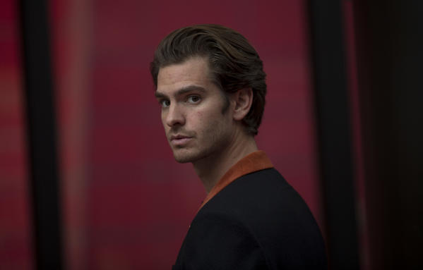 """Actor Andrew Garfield has two films out this season - """"Hacksaw Ridge"""" and """"Silence"""" - both of which are getting critical praise. (Luis Sinco/Los Angeles Times)"""