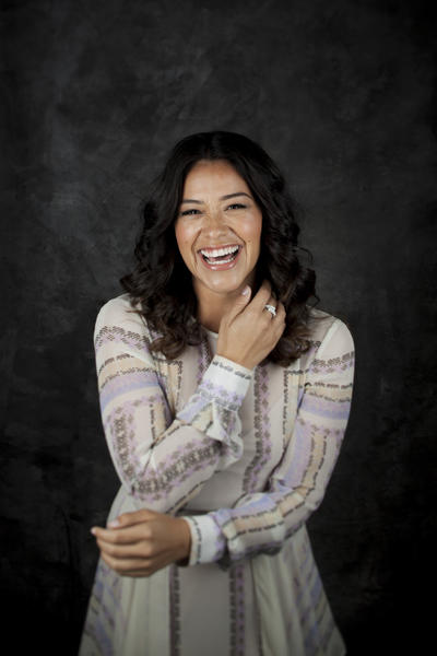 "Gina Rodriguez, from the CW's ""Jane the Virgin,"" is photographed at the Fairmont Miramar Hotel and Bungalows in Santa Monica on March 30, 2015. (Jay L. Clendenin / Los Angeles Times)"