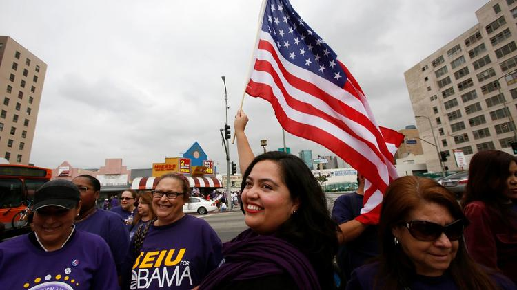 Wendy Carrillo, pictured here in 2013, was the leading vote-getter in a special election for an Assembly seat. (Irfan Khan / Los Angeles Times)