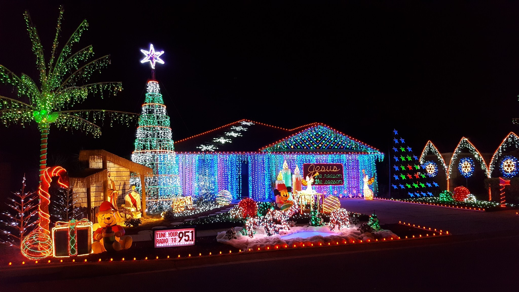 All Is Bright Holiday Light Displays Across Central Florida