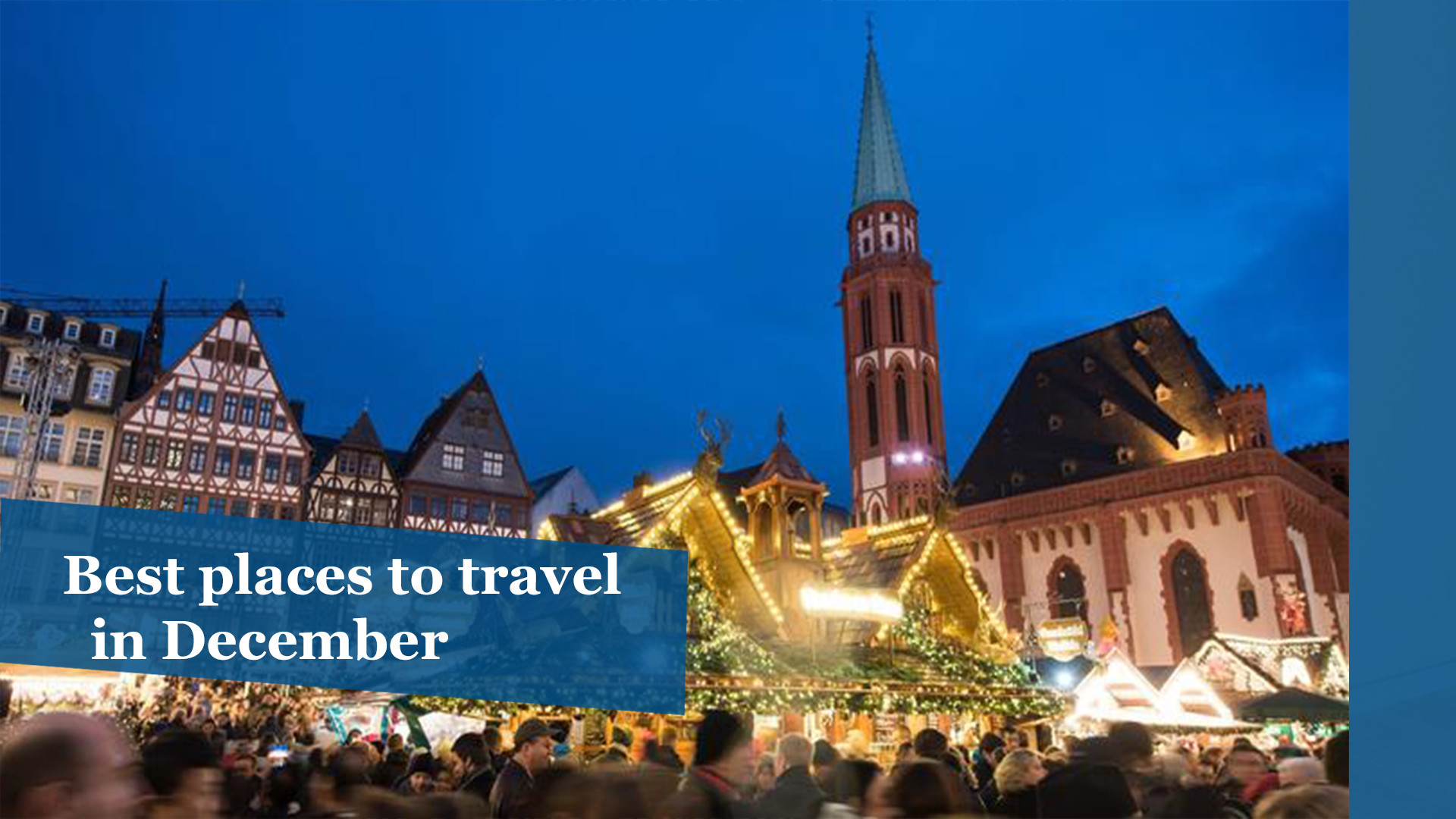 best places to travel in december chicago tribune