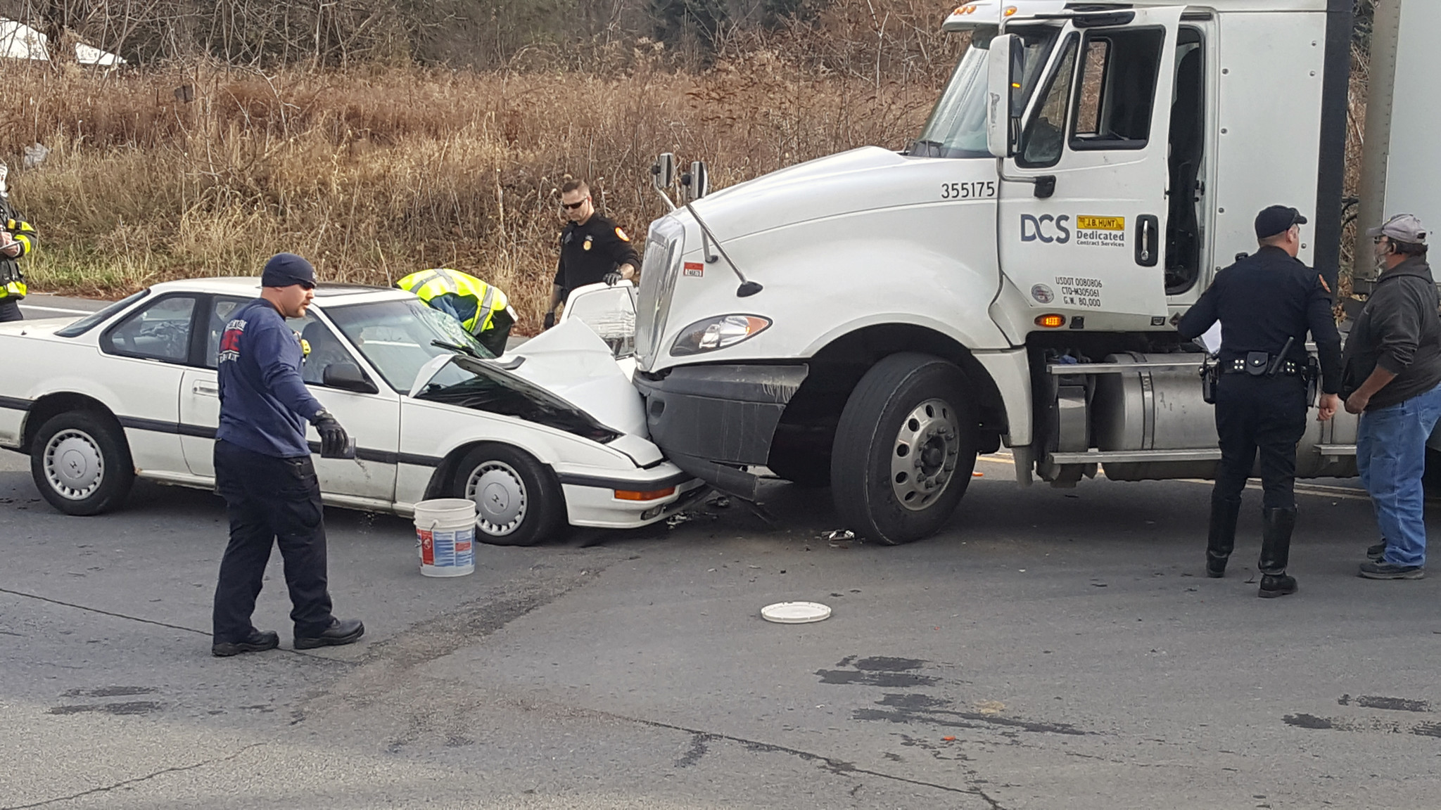 VIDEO: Car Accident in Bethlehem - The Morning Call