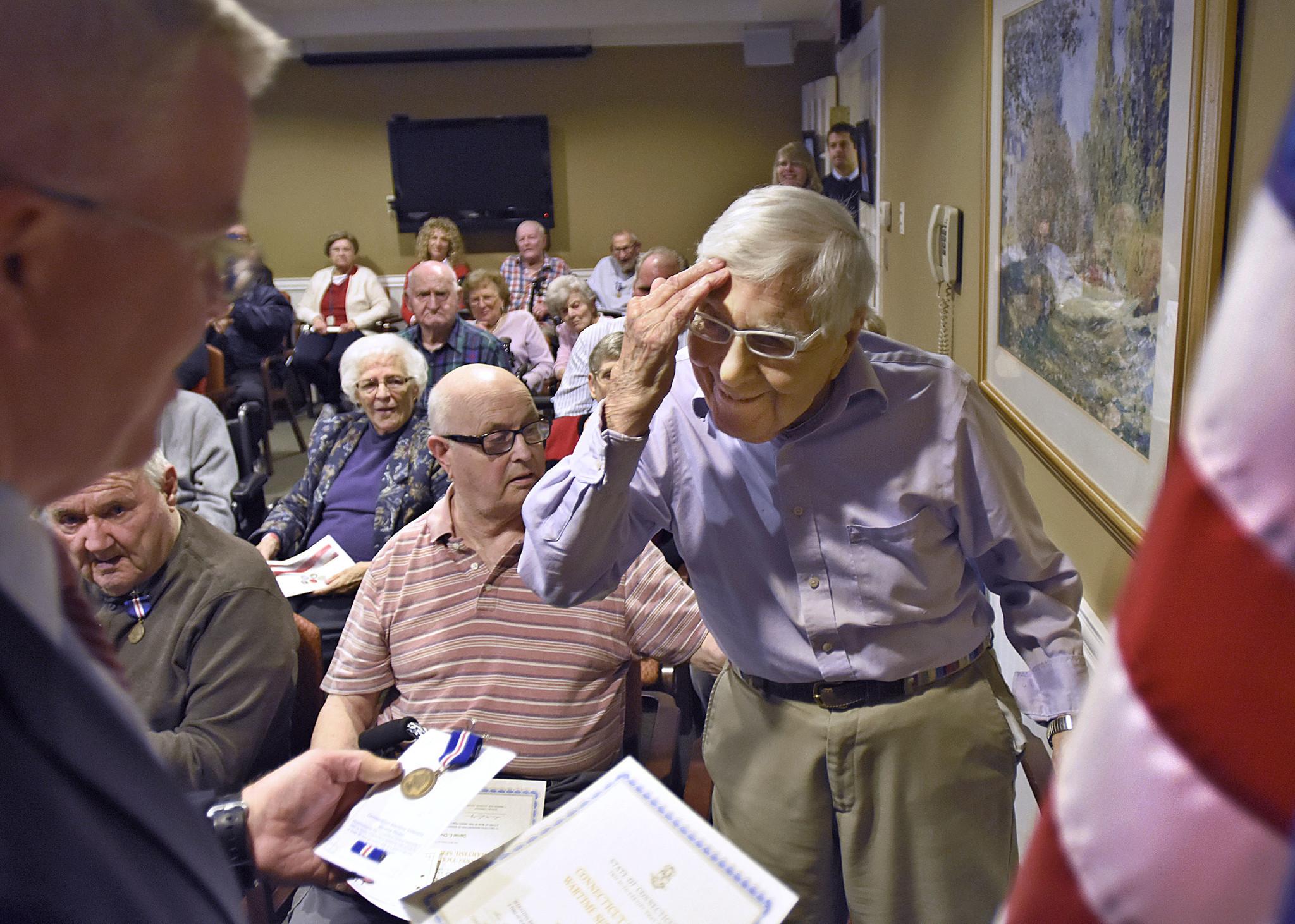 Veterans At Middletown Assisted Living Center Get Wartime