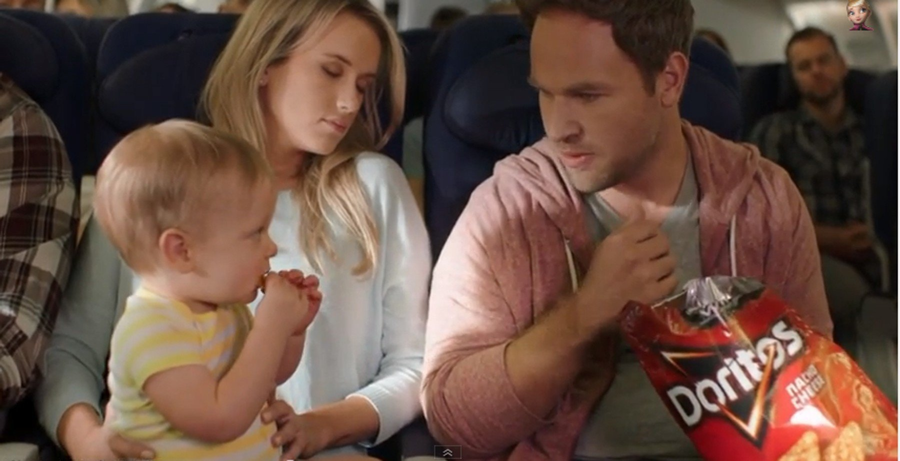 doritos superbowl commercial Hundreds vented their frustration at australian filmmaker peter carstairs' 'crash the super bowl' commercial which opens with a father loudly eating doritos.