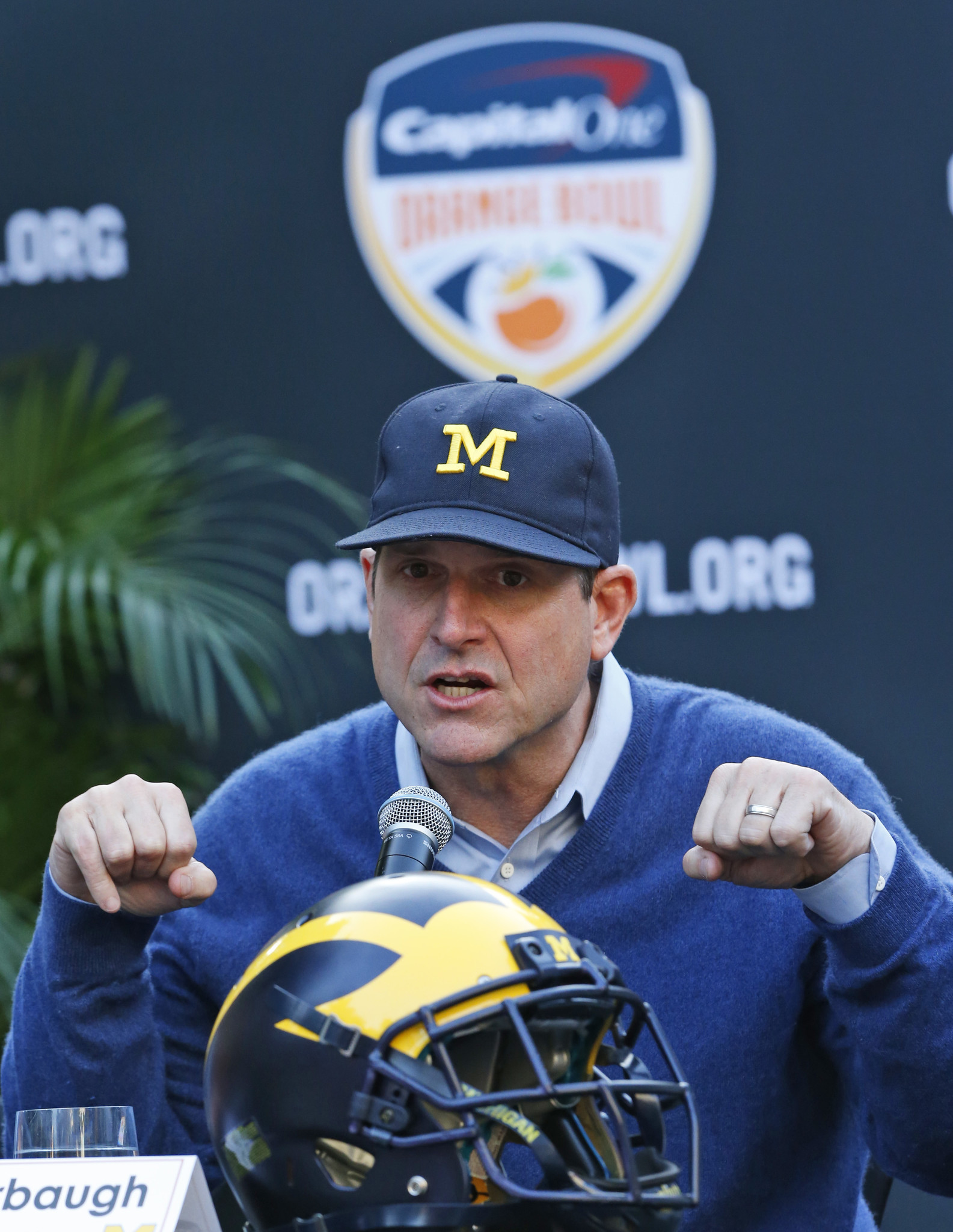 Jim Harbaugh Nfl Rumors Are Lies Made Up By Our Enemies Who Are Jive Turkeys Chicago Tribune