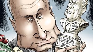Trump slanders the CIA and tilts America toward Putin's Russia