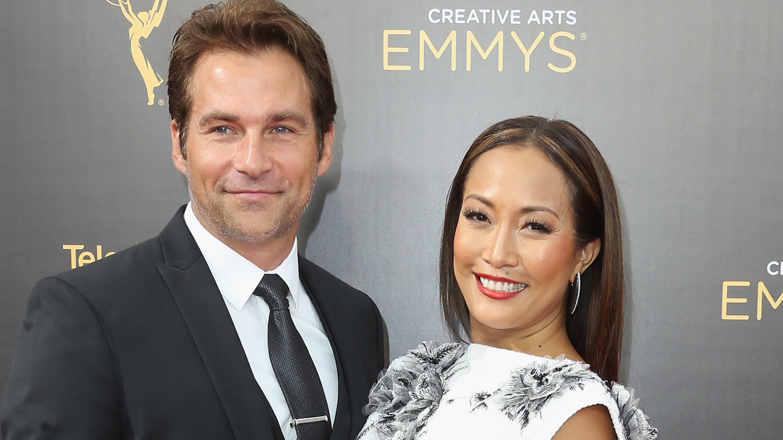 Image result for Carrie Ann Inaba and her fiance Robb Derringer