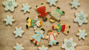 Holiday kids cookies