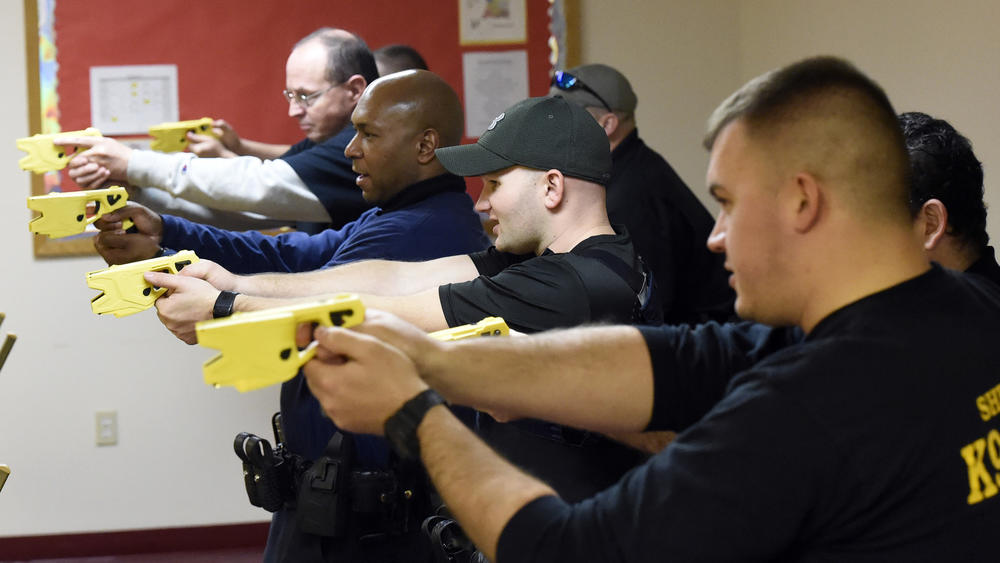 eight deputies went through training with Tasers