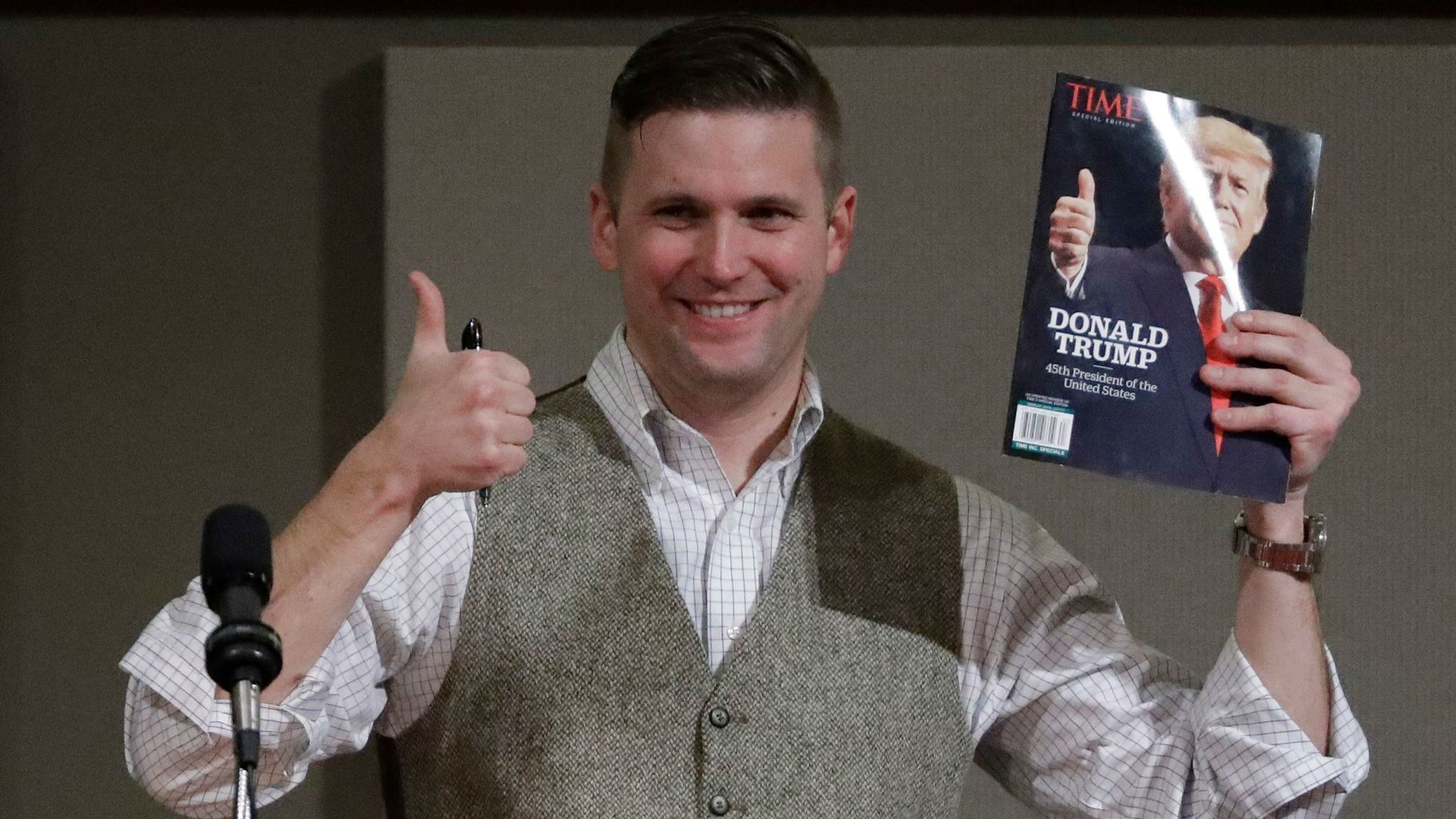 Image result for images of richard spencer and Trump
