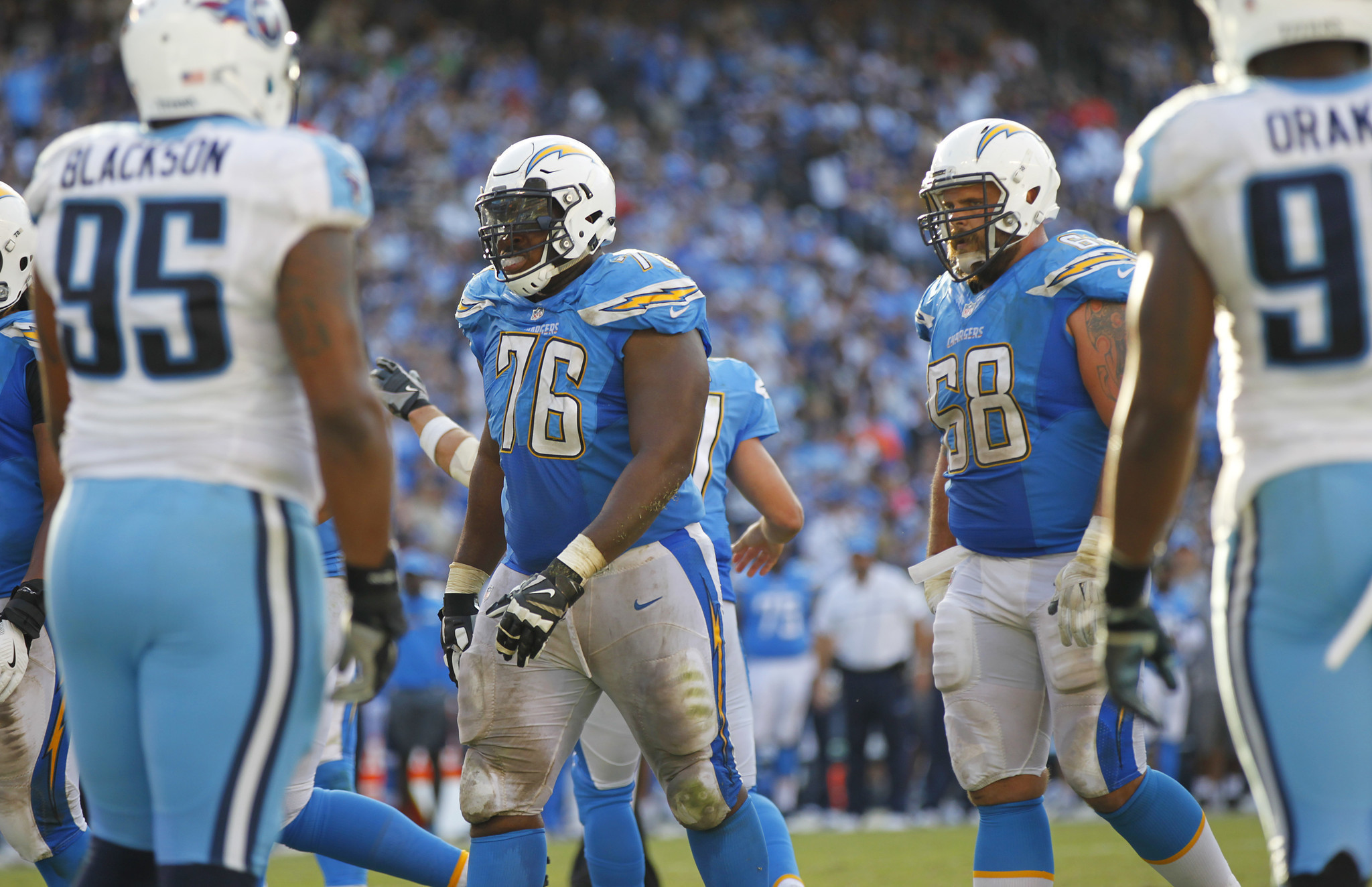 Changes Coming On Chargers Offensive Line The San Diego