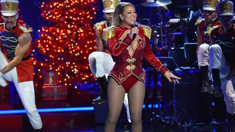 Mariah Carey on 2016 VH1's Divas Holiday: Unsilent Night - Inside