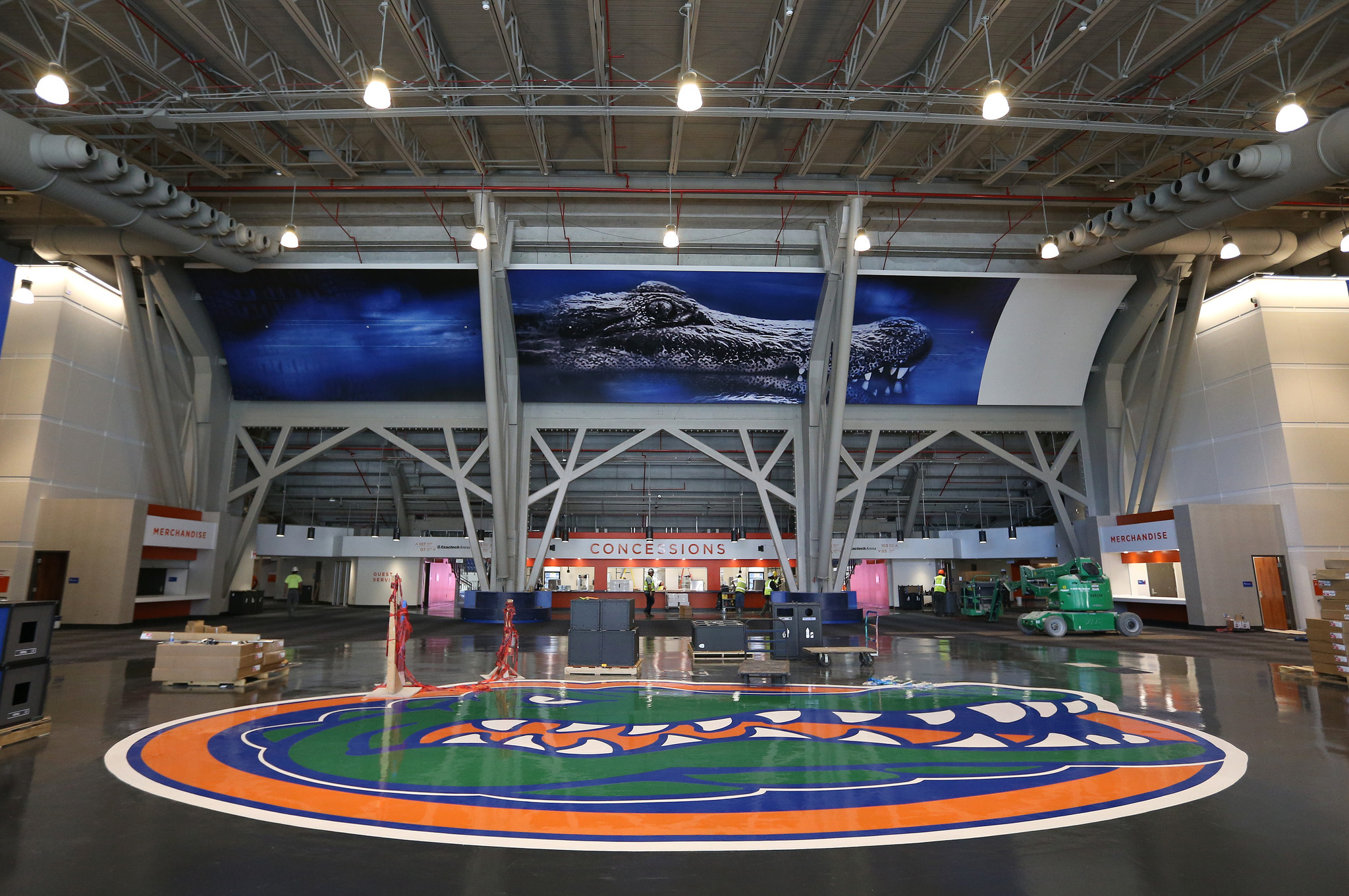 O Connell Center Renovations : Gators renovated o connell center unveiled sun sentinel