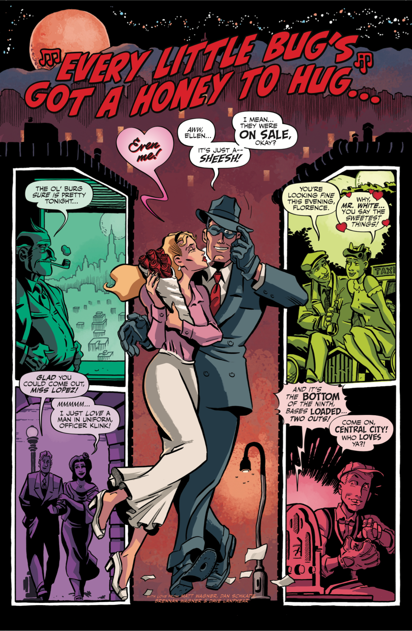 "WIll Eisner's ""The Spirit"" will appear in ""Love Is Love."""