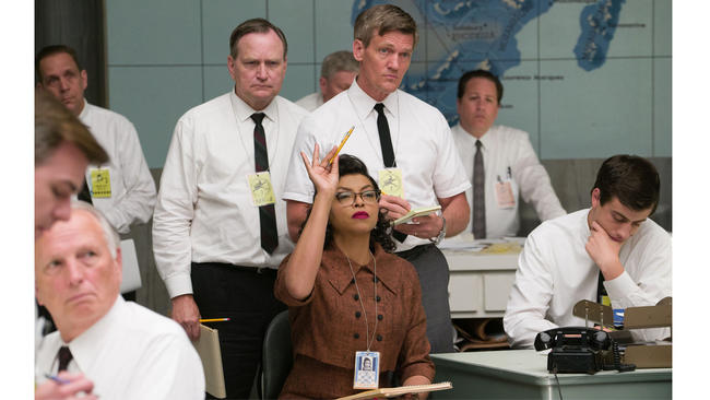 """Hidden Figures,"" starring Taraji P. Henson, is on track for its second week at No. 1 in the box office race. (Hopper Stone)"