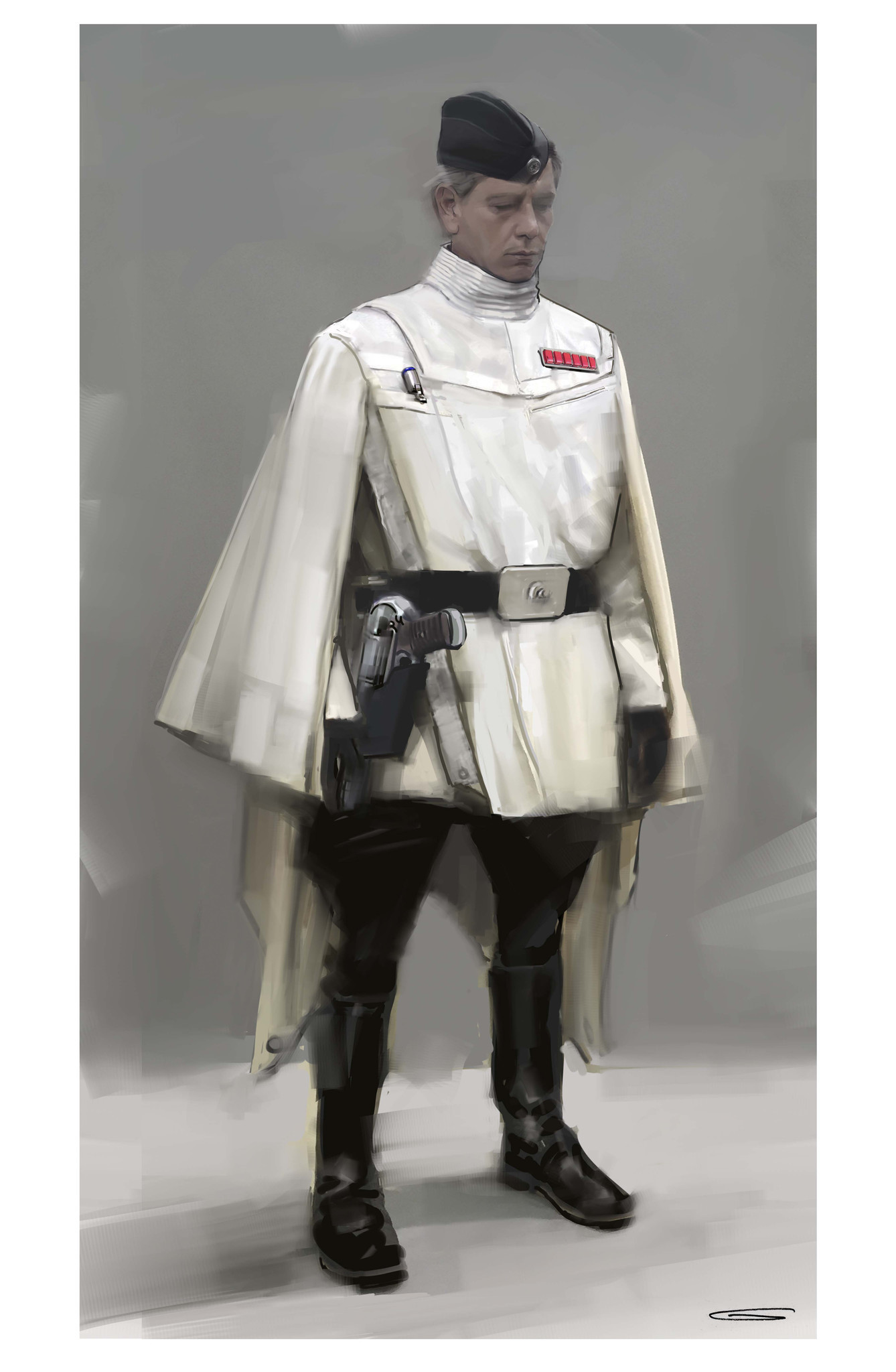 Concept Art for character Orson Krennic of 'Rogue One.'