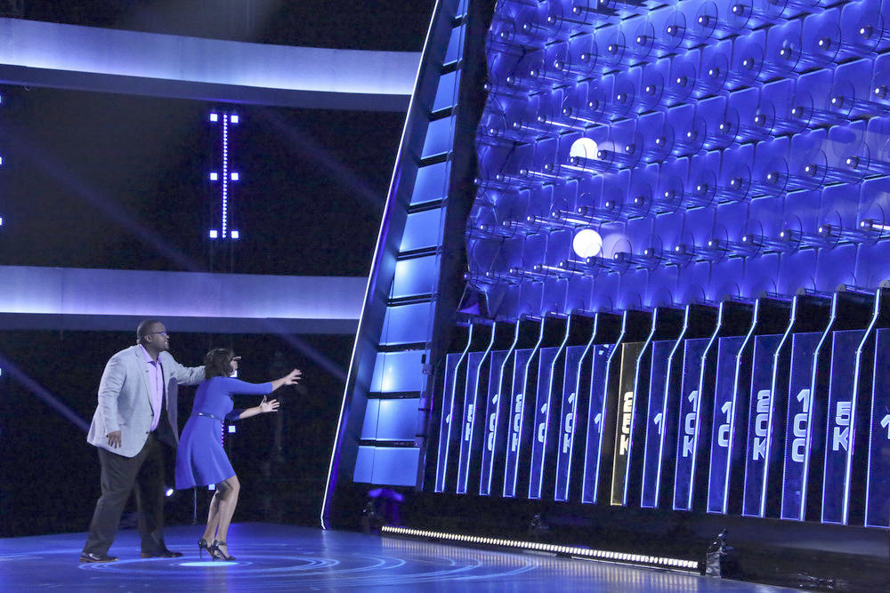NBC's 'The Wall' is basically a high-tech Plinko game, but