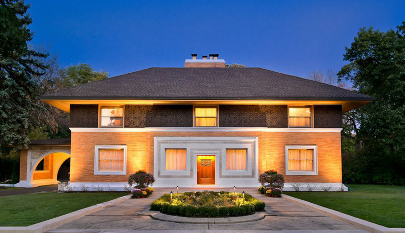 frank lloyd wright u0027s winslow house in river forest sells for