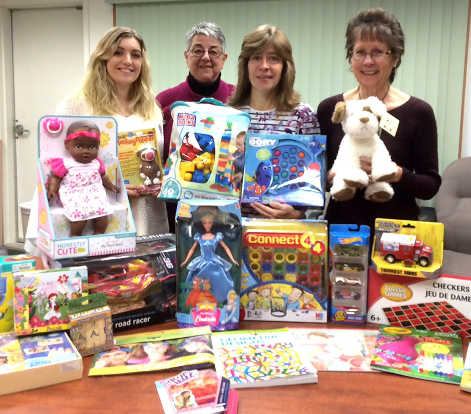 Toys For Joy : Tobacco valley teachers federal credit union donates to