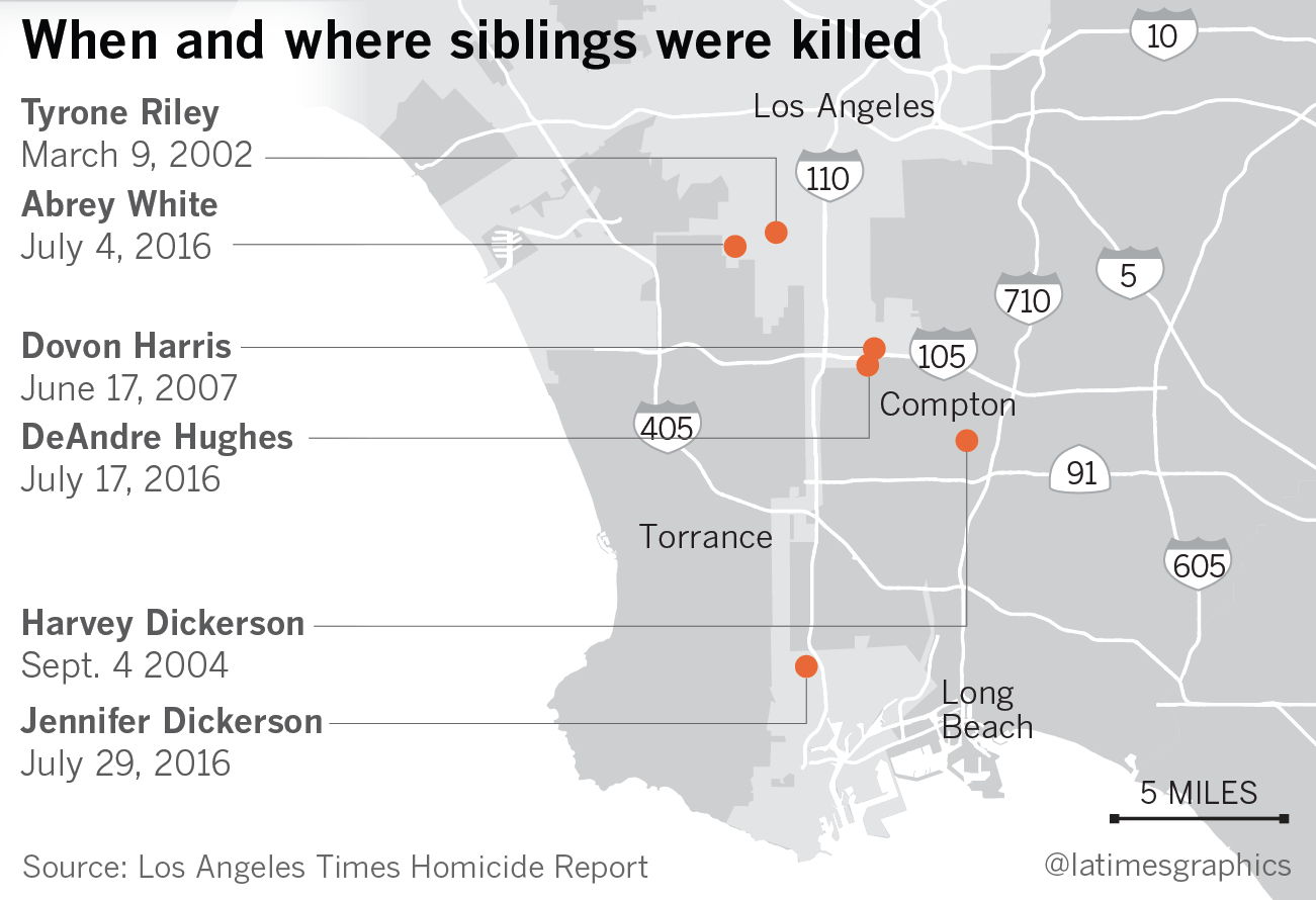 los angeles times homicide report