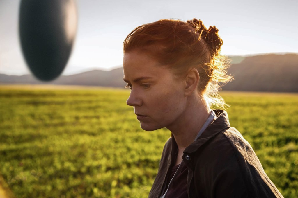 "Amy Adams stars in ""Arrival,"" nominated for best picture. (Paramount)"
