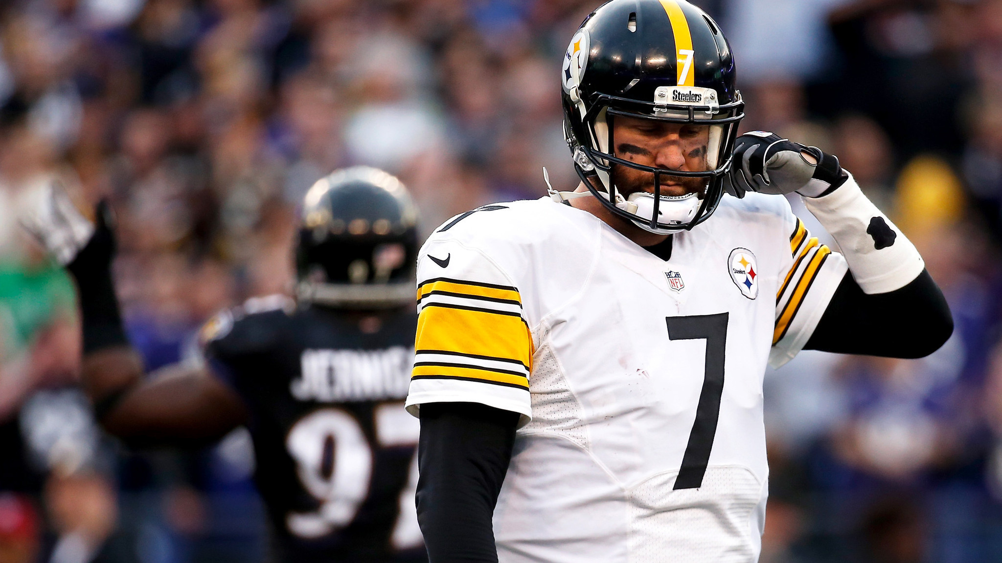 nfl matchup today steelers ravens over under