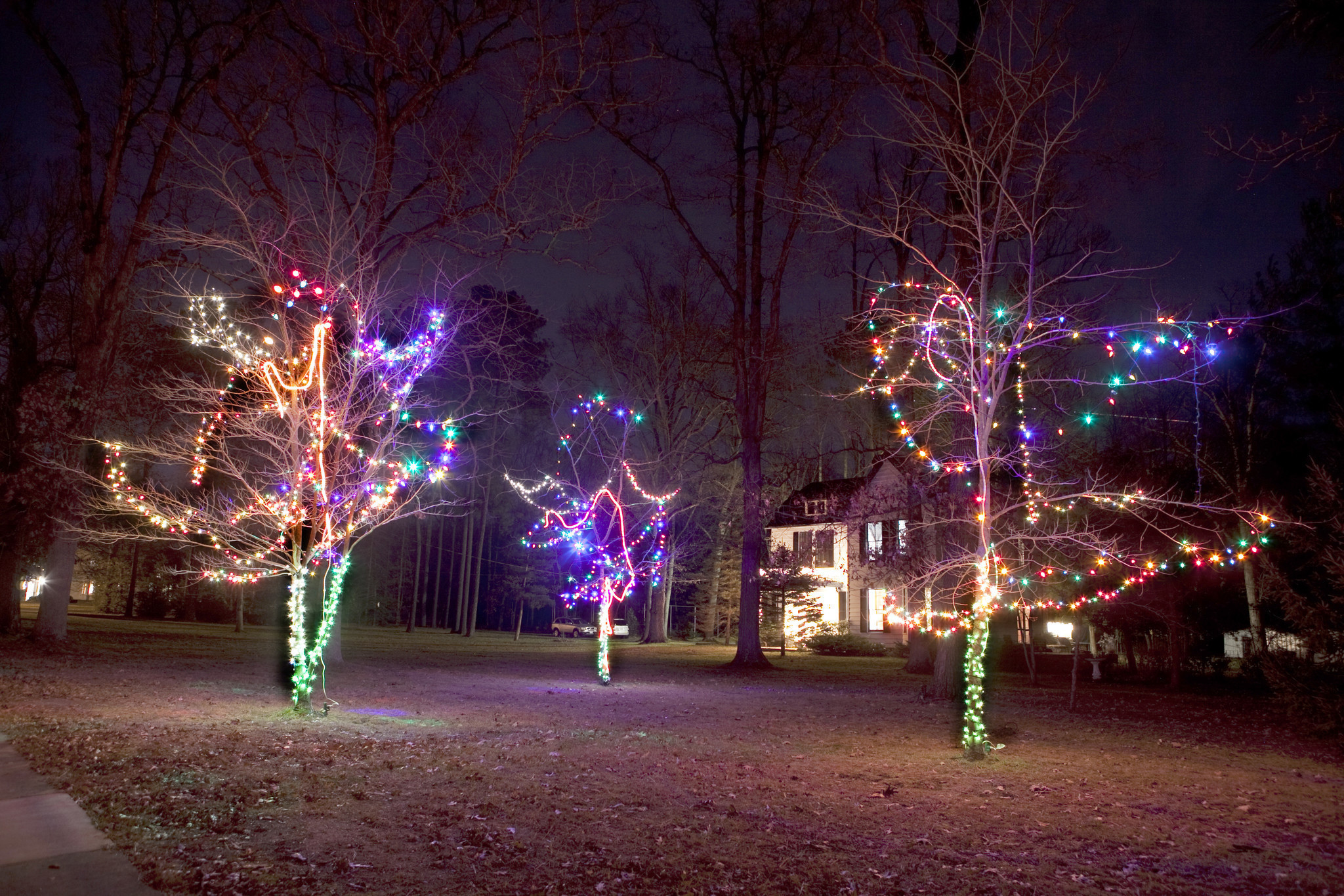 ashland virginia gives amtrak riders a holiday light spectacular chicago tribune - Christmas Light Train