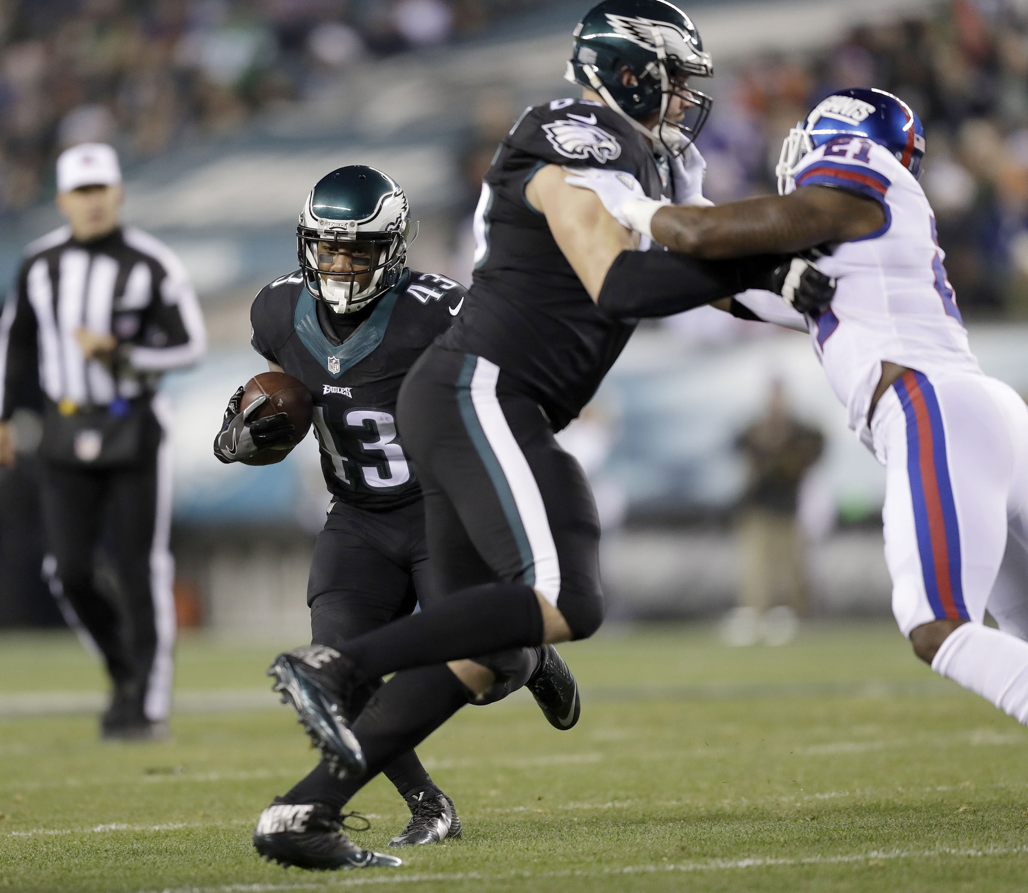 Monday Morning Quarterback No rust for Lane Johnson in solid