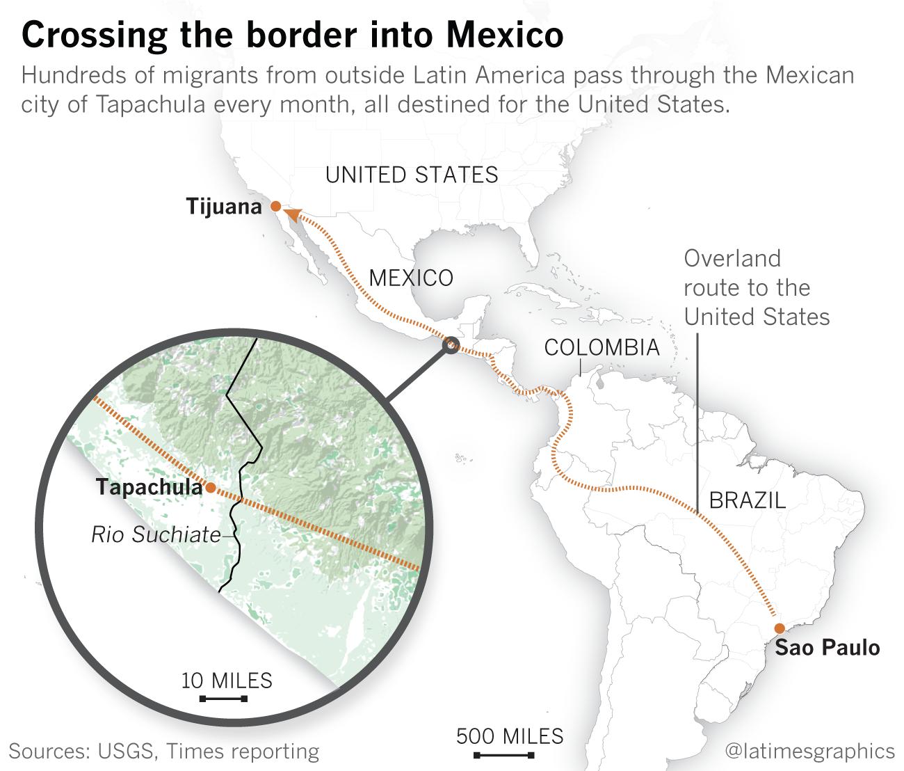 Central American migrant caravans - Wikipedia