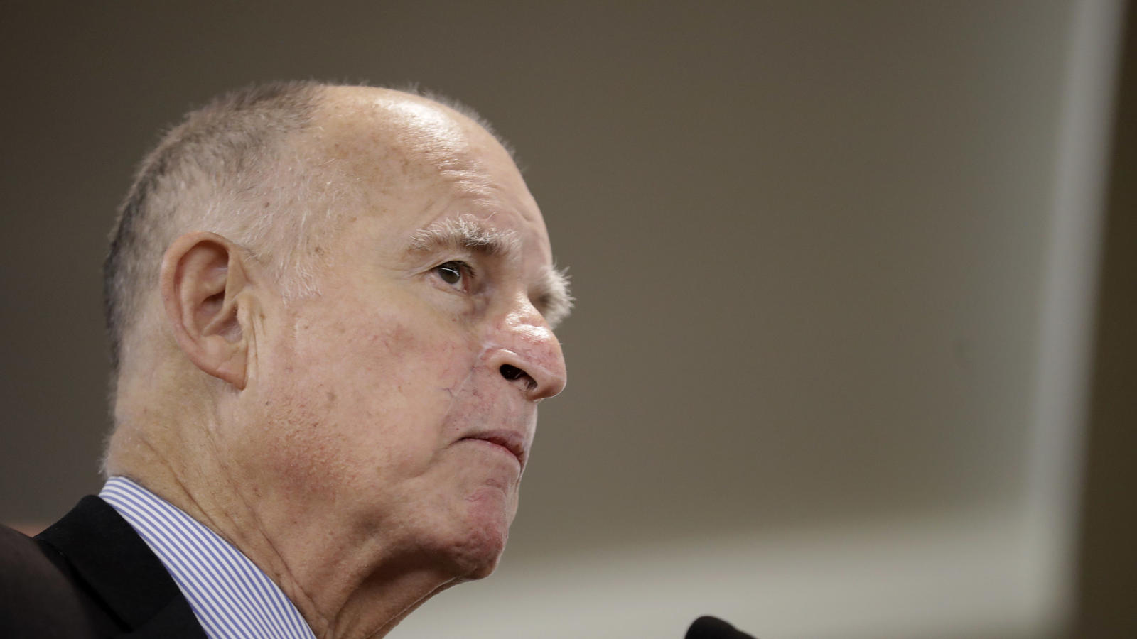 Gov. Jerry Brown (Gregory Bull / Associated Press)
