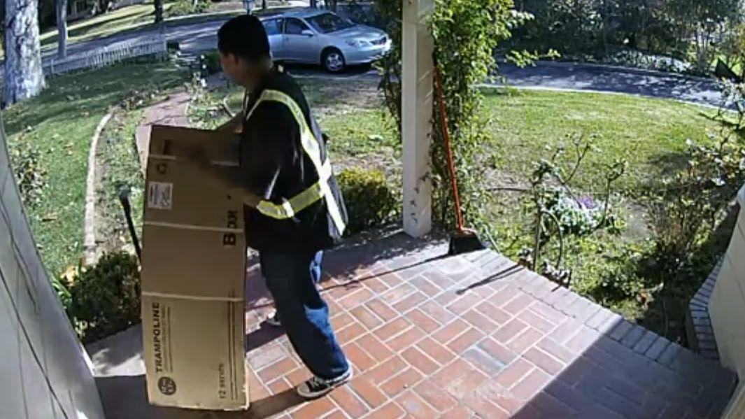 robo de paquetería
