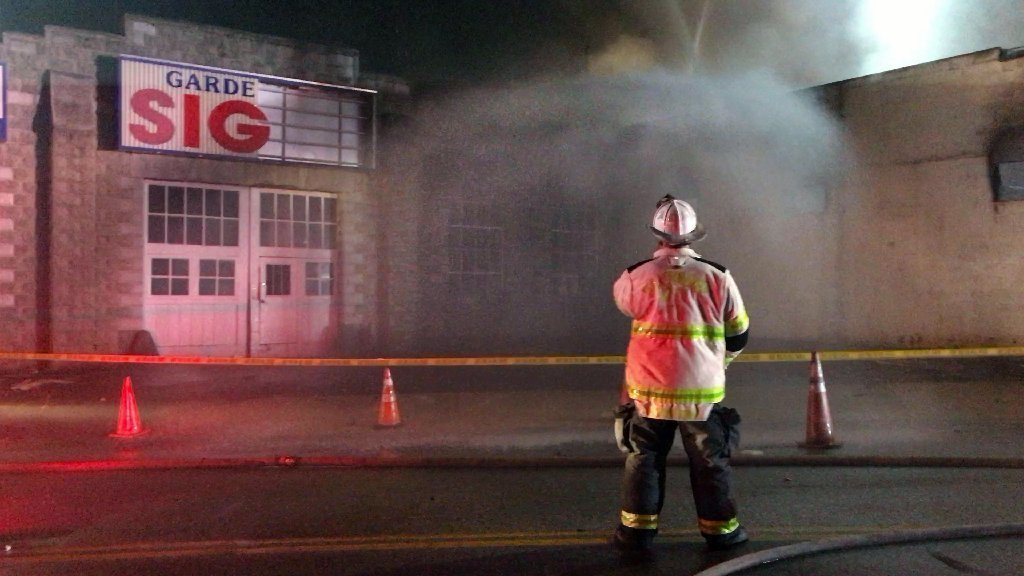 Firefighters Investigating Blaze At Northeast Baltimore
