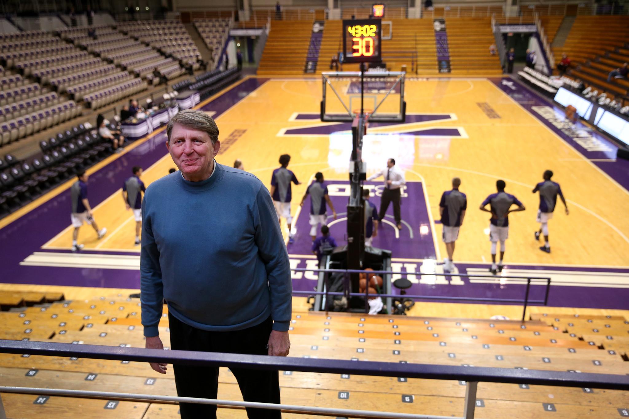 Former Northwestern basketball great Joe Ruklick part of