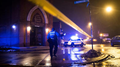A violent Christmas in a violent year for Chicago: 11 killed, 50 wounded