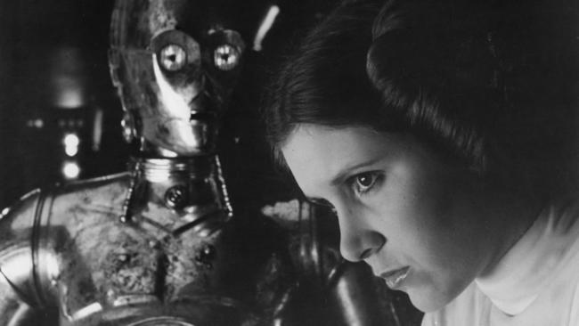 "Actress and writer Carrie Fisher is perhaps best known for portraying Princess Leia Organa in the ""Star Wars"" films died Dec. 27. None"