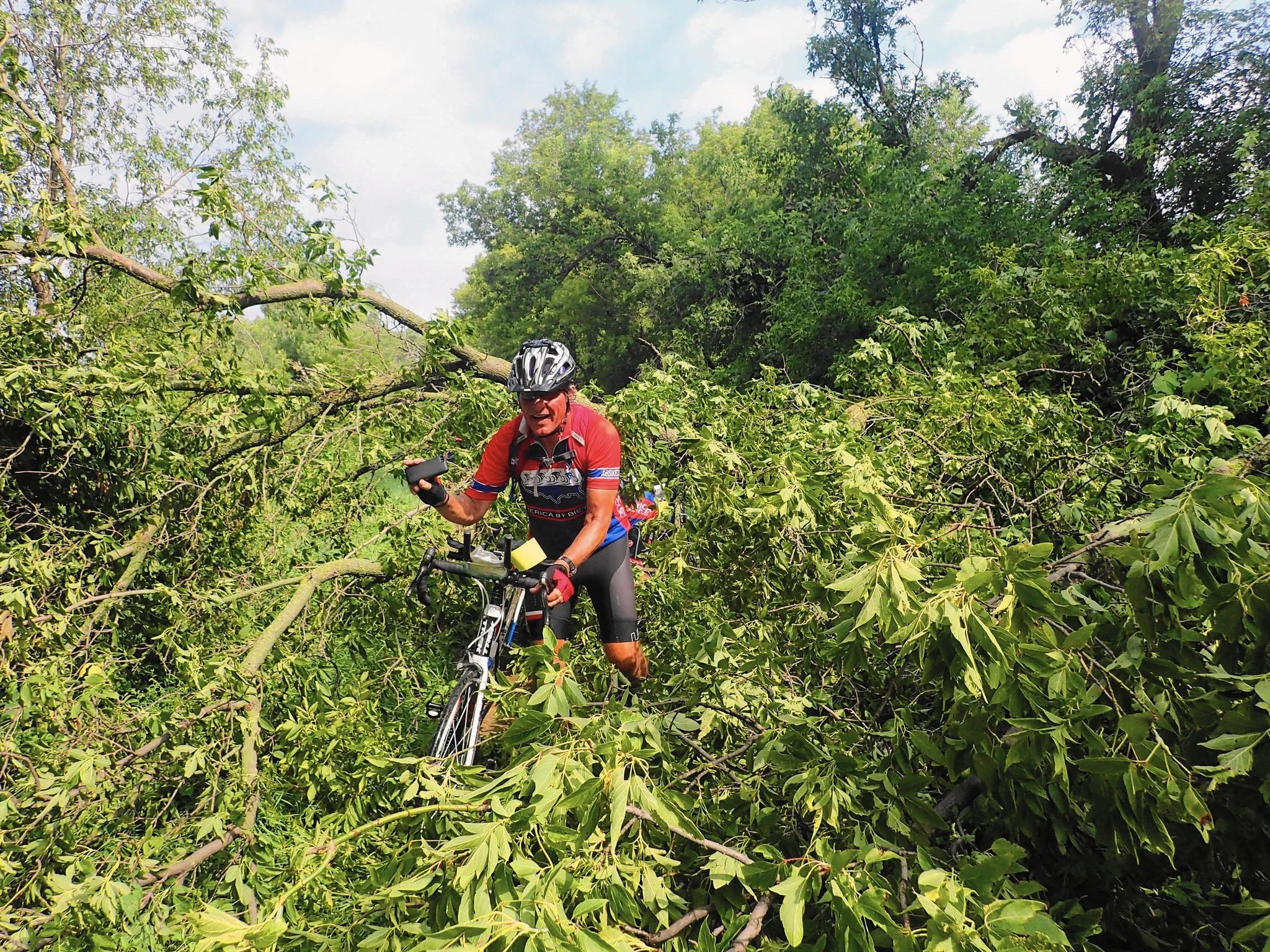 Racking up miles, memories on cross-country bike adventure