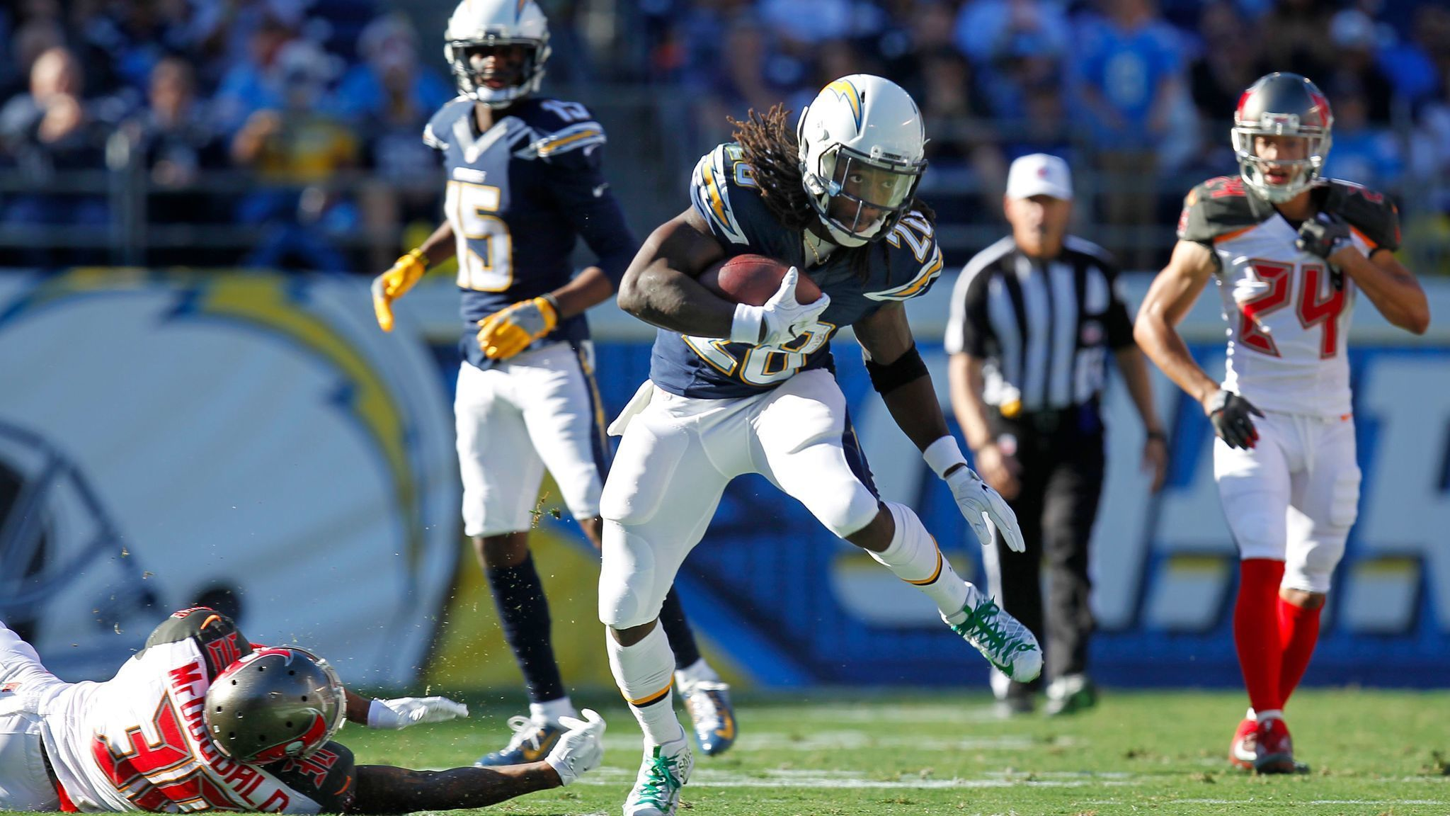 Melvin Gordon Still Itching To Play Sunday The San Diego
