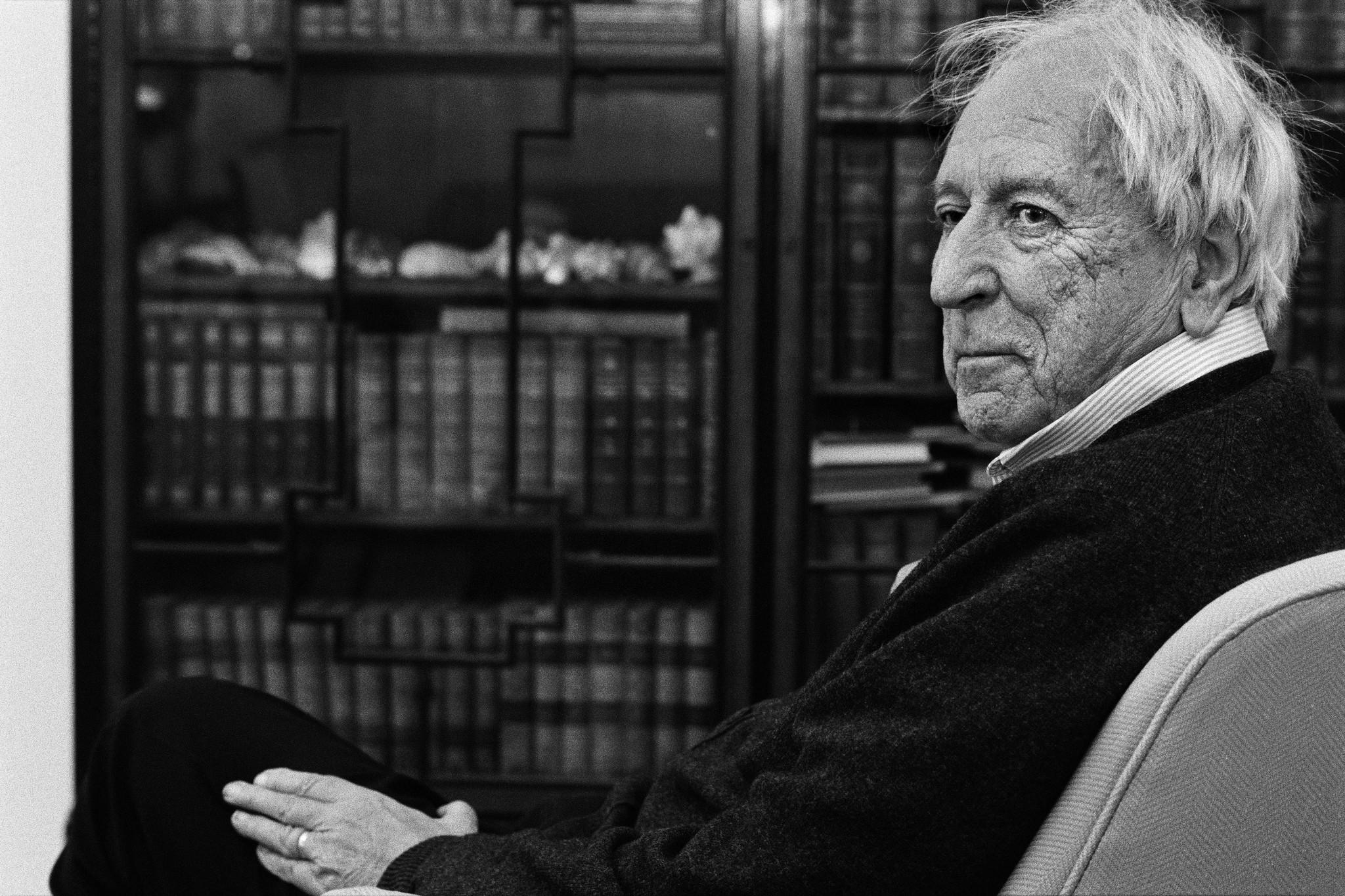 "Peter Badge's ""Nobel Laureate: Tomas Transtrmer/Sweden, Literature, 2011,"" 2012, analog photograph."