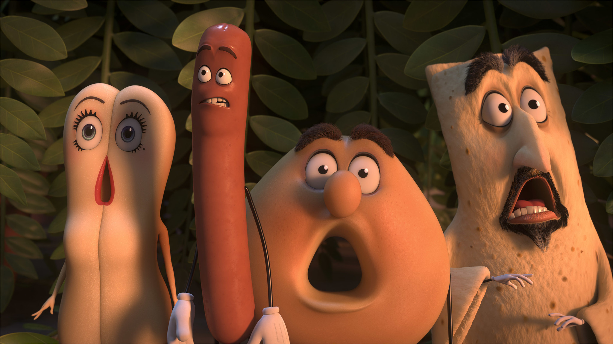 "Did the ""Sausage Party"" gang help normalize the reaction to Donald Trump's crude remarks on the ""Access Hollywood"" tape? (Columbia, Sony Pictures via AP)"