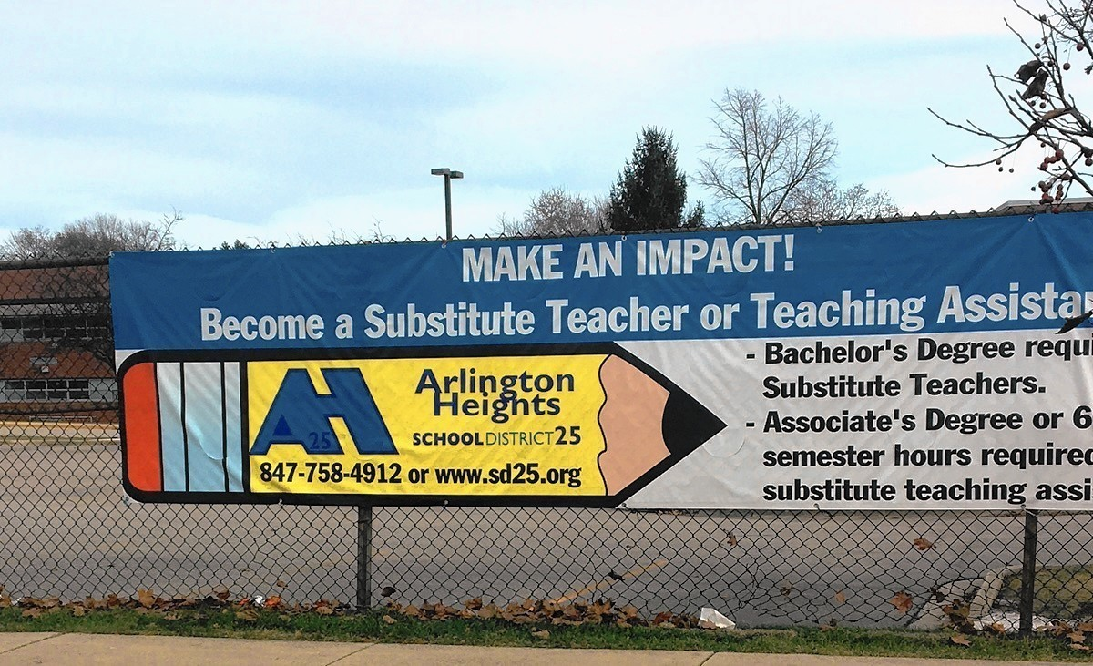 arlington heights school district looks to fill substitute arlington heights school district 25 looks to fill substitute teacher shortage chicago tribune