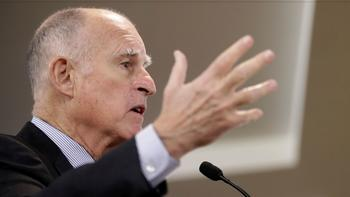 Gov. Jerry Brown has promised to defend climate scientists at national laboratories in California.