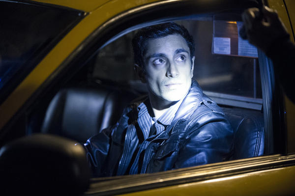 "Riz Ahmed as Nasir Khan in the HBO series ""The Night Of."" (Craig Blankenhorn / HBO)"