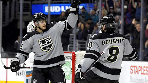 Kings End Their Home Losing Streak Against The Sharks, 3-2