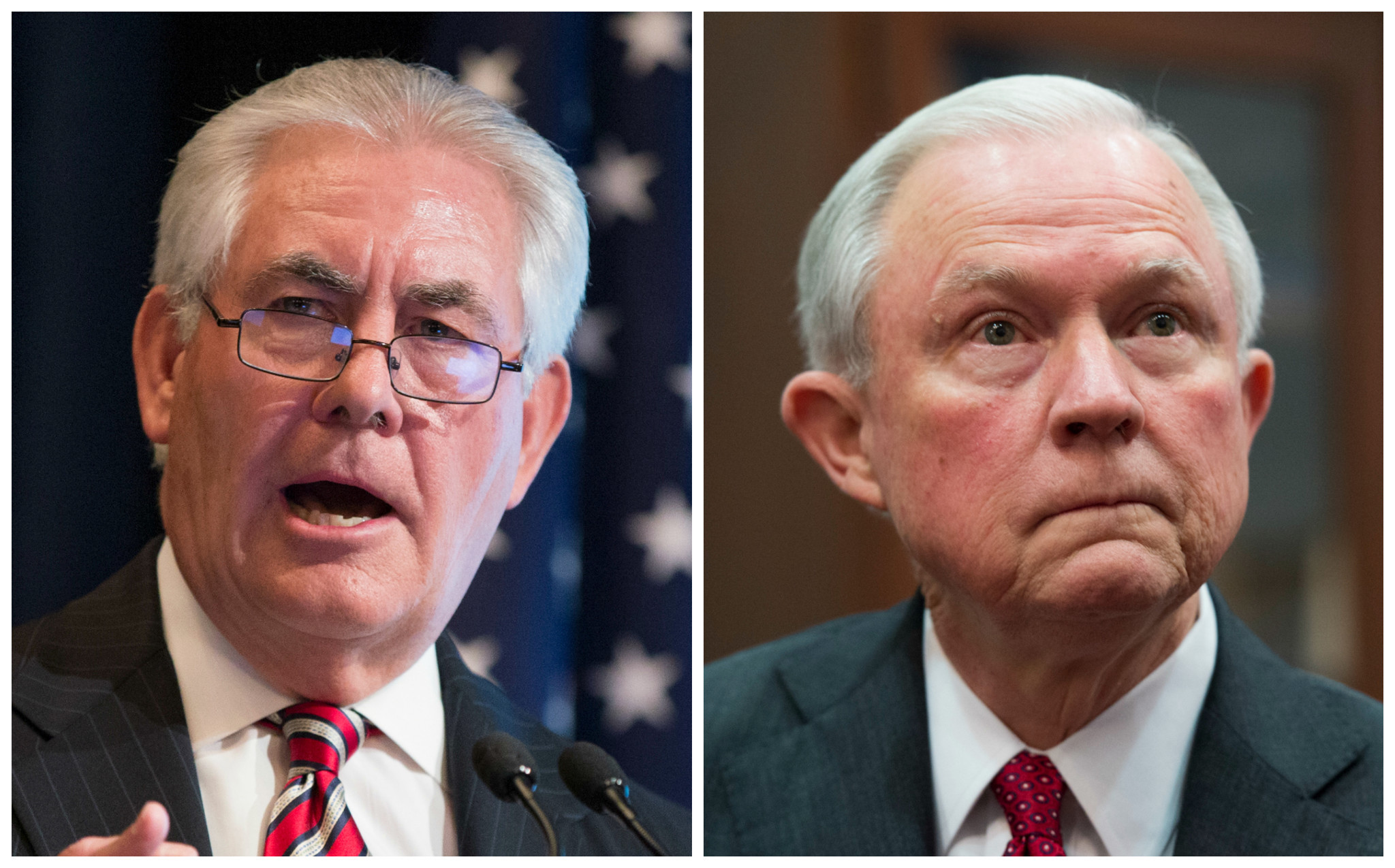 government senate starts confirmation hearings trumps cabinet nominees