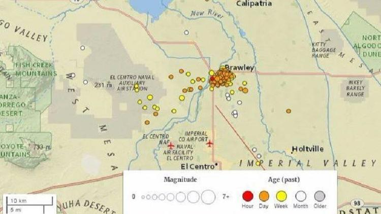 250 small earthquakes near the California-Mexico border thumbnail