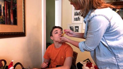 Doctored Marijuana Gives Relief To Boy Whose Parents Found No Other Way To Help Him